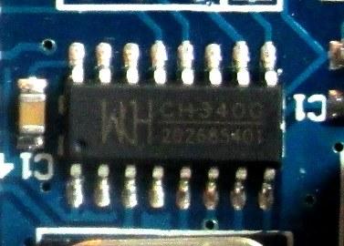 CH340 USB-Seri Dönüştürücü Entegre